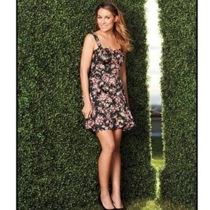 Lauren Conrad floral dress size 2